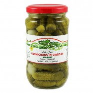 Extra Fine French Gherkins - Cornichons - 12.5oz - (Pack of 3)