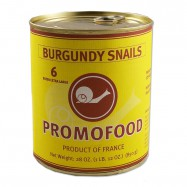 Extra Large French Burgundy Snails - 6 Dozens - 28oz