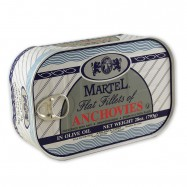 Flat Fillets of Anchovies in Olive Oil - 28oz
