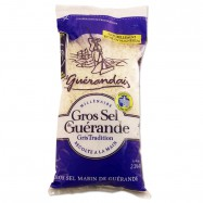 Atlantic Grey Coarse Sea Salt from Guerande - 2.2Lbs - (Pack of 2)