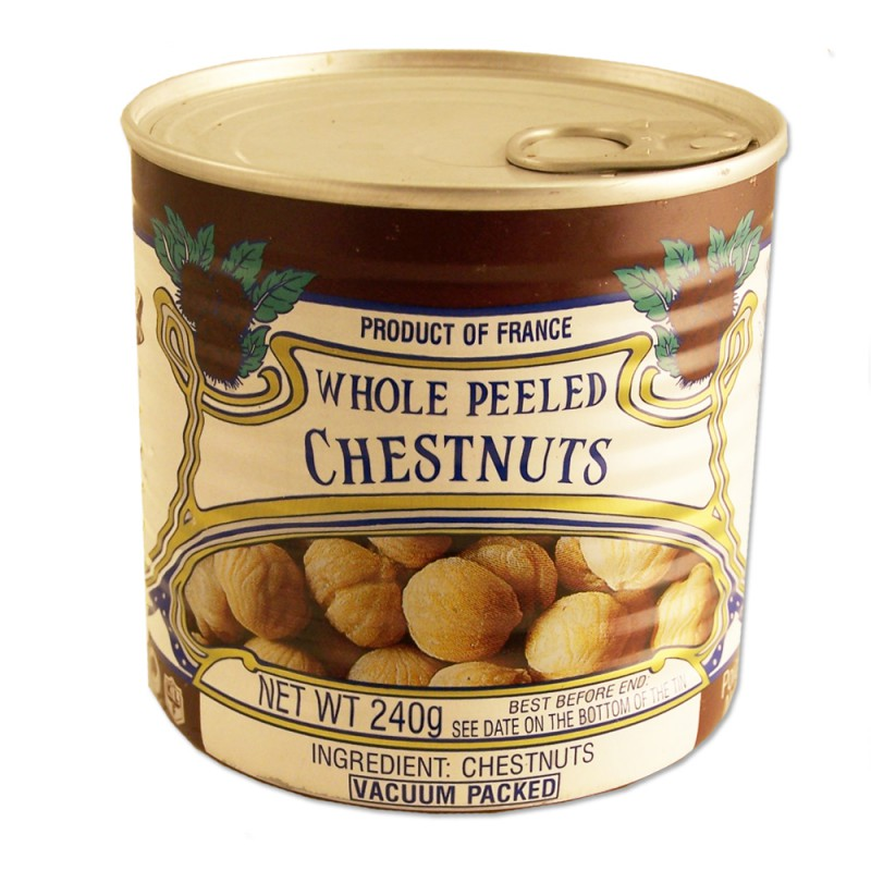 How To Cook Vacuum Packed Chestnuts