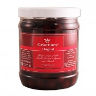 Wild Morello Cherries in Brandy - Guinettes - 1-Lt Jar