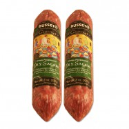 Dry Salami with Green Peppercorn - 8oz - (Pack of 2)