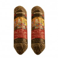 Dry Salami with Black Pepper - 8oz - (Pack of 2)