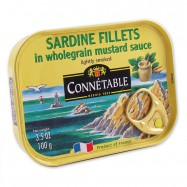 Boneless Fillets of Sardines in Mustard Sauce - (Pack of 3)