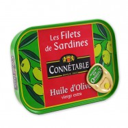 Whole Sardines in Extra Virgin Olive Oil - 4oz - (Pack of 3)