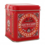 Lazzaroni Amarettini Di Saronno Cookies - 4.4oz Tin - (Pack of 2)