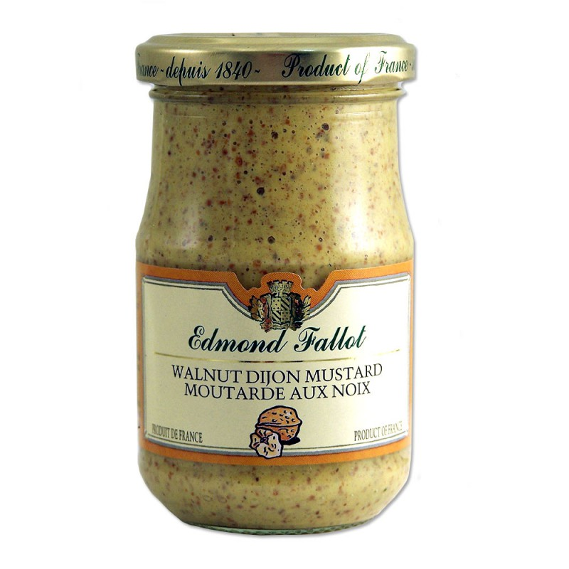 French Walnut Dijon Mustard - 7.4oz - (Pack of 3) - Le village ...: www.levillage.com/mustards/236-french-walnut-dijon-mustard-74oz...