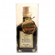 Balsamic Vinegar from Modena in a cubic glass - Aged 12 Years - 6% acidity - 8.45oz