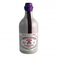 Raspberry Flavored White Wine Vinegar in a Sandstone Bottle - 16.9oz