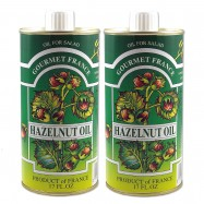 French Hazelnut Oil in a Tin - 16.9oz - (Pack of 2)