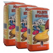 Instant Polenta - Fine ground meal - 17.6oz - (Pack of 3)