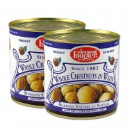 Whole Chestnuts in Water - 10oz - (Pack of 2)