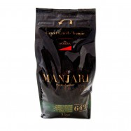 Dark Chocolate Beans Manjari - 64% Cocoa - 6.6Lb-Bag