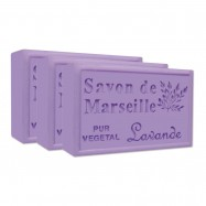 Lavender Pure French Marseille Soap - 4.4oz - (Pack of 3 bars)