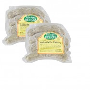 Andouille Pudding Sausages - Andouillette - Herbed Tripe Sausages - 4 Links (Pack of 2)