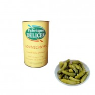 French Gherkins - Cornichons - All Natural - 9.4Lbs Can