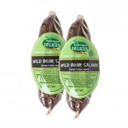 Wild Boar Salami - 8oz - (Pack of 2)